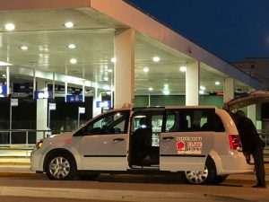 Suburb taxi